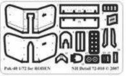 NH Detail PAK-40 Detail Set für RODEN 1:72