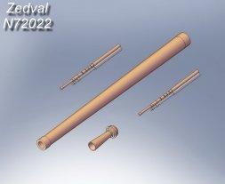 KV-1 (w/ F-32) detail set 1:72