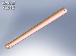 Zedval T-34/76 76mm gun barrel F-34 1:72