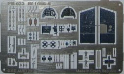 Bilek Bf 109G-6 - P.E. detail set 1:72