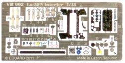 La-5FN P.E. interier detail set 1:48