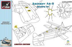 Armory Antonov An-2 detail set 1:48