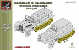 Armory Sd.Kfz.10 & Sd.Kfz.250 tracked suspension, late 1:72