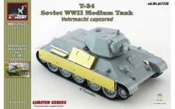 Armory T-34/76 captured by Vehrmacht 1:72