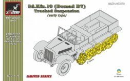 Sd.Kfz.10 (Demag D7) tracked suspension, early 1:72