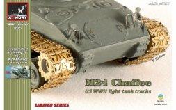 Armory M24 Chaffee tracks w/ suspension details 1:72