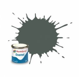 Humbrol 001 - Grundierung gau matt - 14ml Enamel