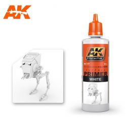 AK Interactive AK177 - White Primer - 60ml