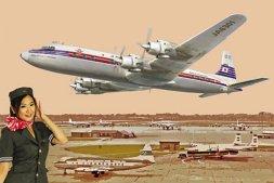 DC-7C Japan Air Lines 1:144