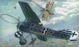 Fokker E.V/D.VIII Flying Razor 1:72