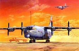 Antonov An-12BK Cub Soviet military transporter 1:72