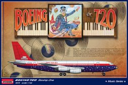 Boeing 720 Starship One Elton John USA tour 1:144