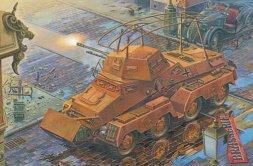 Sd.Kfz.232 (FU) (8-Rad) Panzerspähwagen 1:72