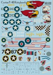 Print Scale P-40 Kittyhawk Part.1 1:72