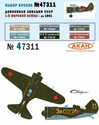 AKAN USSR Air Force 1914 - 1941