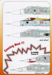 Authentic Decals Su-24 Frencer 1:48