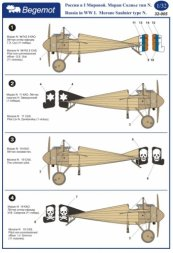 Morane Saulnier type N. - Russia in the WWI 1:32