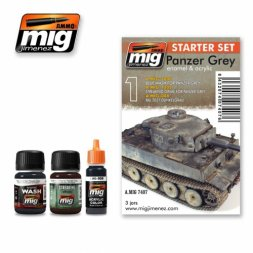 AMMO of MiG Panzer Grey - Starter Set