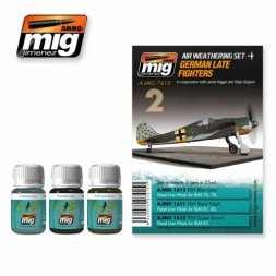 AMMO of MiG German late fighters WWII - Weathering Set