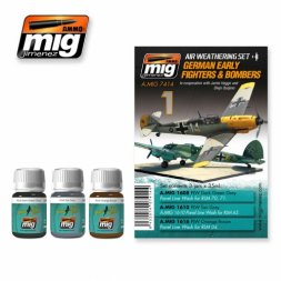 AMMO of MiG German early fighter & Bombers WWII - Weathering Set