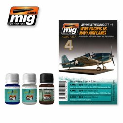 AMMO of MiG US Navy Pacific Airplanes WWII - Weathering Set