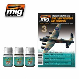 AMMO of MiG RAF Early Fighters & Bombers - Weathering Set