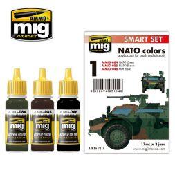 AMMO of MiG - NATO colors - Smart Set