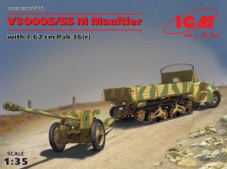 Ford V3000S/SS M Maultier with Pak 36(r) 1:35