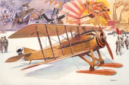 Roden SPAD VIIc.1 with Russian Skies 1:32