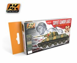 AK Interactive - Soviet Tank Camouflages 1935 - 1945