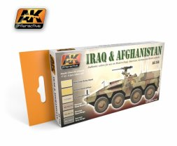 Iraq and Afghanistan Acryl Set
