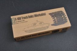 Trumpeter E-100 Worktable Track links 1:35