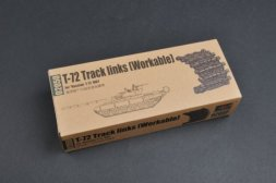 Trumpeter T-72 Worktable Track links early 1:35