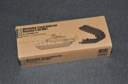 Trumpeter T-72, T-90 Worktable Track links late 1:35
