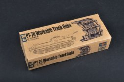 Trumpeter PT-76, BTR-50 Worktable Track links 1:35