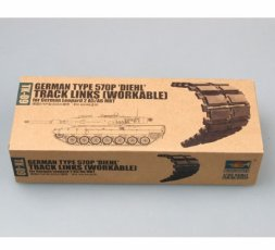Trumpeter Leopard 2A5/A6 Workable Track links 1:35