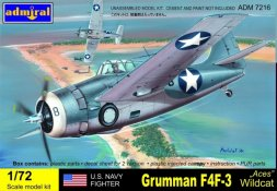 Admiral Grumman F4F-3 Wildact Aces 1:72