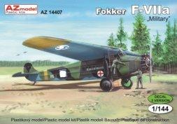 AZmodel Fokker F-VIIa Military 1:144