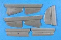 Yak-7, Yak-9 control surfaces 1:48