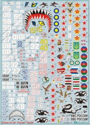 Su-24 Fencer family Decals 1:72