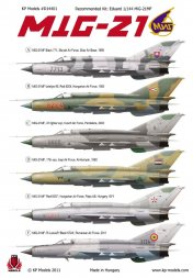 MiG-21MF Fishbed Decals 1:144