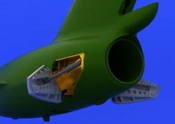 Eduard Brassin MiG-15 airbrakes für Edurad 1:72