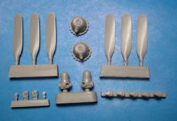 Vector PV-1 Ventura Corrected Propellers & Crankcases 1:48