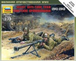 Soviet Anti Tank Rifle Team 1:72