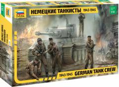 Zvezda German Tank Crew 1943-1945 1:35
