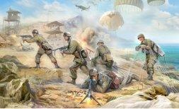 Zvezda German Paratroopers 1939-1942 1:35