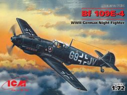 Messerschmitt Bf 109E-4 Night Fighter 1:72