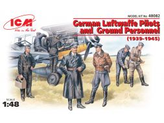 German Luftwaffen Pilot & Ground Personnel 1939-45 1:48