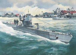 ICM U-Boat Typ IIB (1943) 1:144